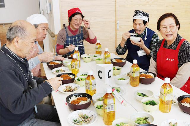 シニア男性対象の料理教室